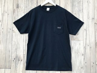 JHAKX [ジャークス] EMBROIDERY LOGO POKET TEE/NAVY