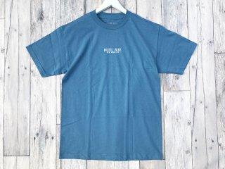 HOTEL BLUE [ホテルブルー] LOGO S/S TEE/SLATE