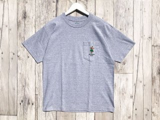 SUNDAYS BEST [サンデイズ ベスト] HULA GIRL POCKET TEE