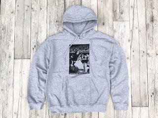 DISCHORD RECORDS [ディスコード レコード] 1ST DISCHORD HOODED SWEAT/HEATHER GREY