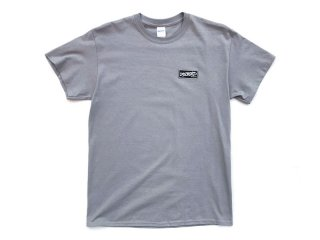 DISCHORD RECORDS [ディスコード レコード] DISCHORD BOX LOGO TEE/LIGHT GREY