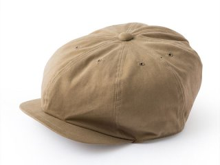 JUST RIGHT [ジャストライト] SPORTS NEWSBOY CAP/BEIGE