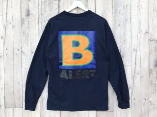 BEDLAM [べドラム] B ALERT L/S TEE/NAVY