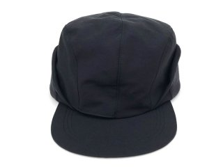 COMFORTABLE REASON [コンフォータブル リーズン] Goldmans Ear flap cap/BLACK