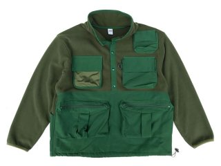 COMFORTABLE REASON [コンフォータブル リーズン] FISHERMAN'S WARM JACKET/OLIVE-GREEN