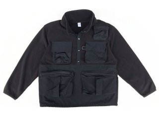 COMFORTABLE REASON [コンフォータブル リーズン] FISHERMAN'S WARM JACKET/BLACK-BLACK
