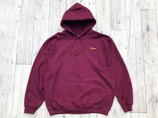 SUNDAYS BEST [サンデイズ ベスト] LOS DOMINGOS EMBROIDERY PULLOVER HOODY/BURGUNDY