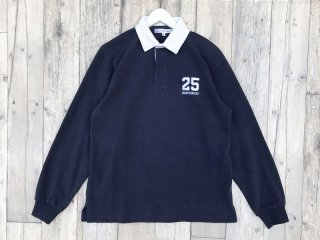 QUARTER SNACKS [クウォータースナックス] 25 RUGBY SHIRT/NAVY