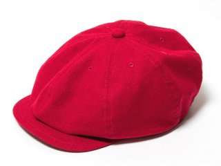 JUST RIGHT [ジャストライト] CLASSIC SPORTS NEWSBOY CAP/RED
