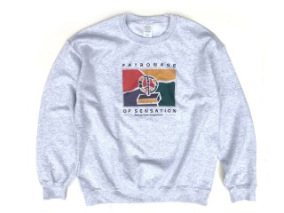 TRIPWIRE [トリップワイヤー] PATRONAGE OF SENSATION CREW NECK SWEAT/ASH