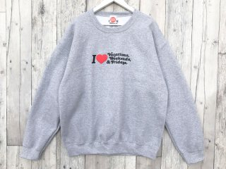 MANAGER'S SPECIAL [マネージャーズスペシャル] MONDAY CREW NECK SWEAT/H.GREY