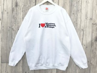 MANAGER'S SPECIAL [マネージャーズスペシャル] MONDAY CREW NECK SWEAT/WHITE