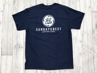 SUNDAYS BEST [サンデイズ ベスト] LIGHTING STORE POCKET TEE/NAVY