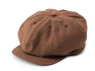 JUST RIGHT [ジャストライト] CLASSIC SPORTS NEWSBOY CAP/Linen Brown