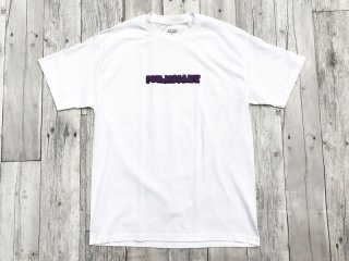JHAKX [ジャークス] PUNJABILIFE TEE/WHITE-PURPLE