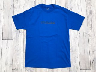 JHAKX [ジャークス] PUNJABILIFE TEE/BLUE-BLACK