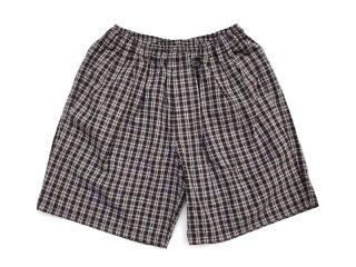 COMFORTABLE REASON [コンフォータブル リーズン] Pile Pocket 2tuck Lounge Shorts/Olive×Brown
