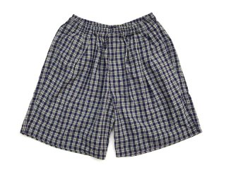 COMFORTABLE REASON [コンフォータブル リーズン] Pile Pocket 2tuck Lounge Shorts/Green×Purple