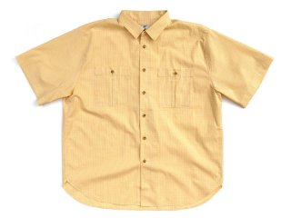 NO ROLL [ノーロール] RELAX GINGHAM S/S SHIRT/YELLOW 【SUNDAYS BEST EXCLUSIVE】