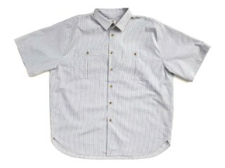 NO ROLL [ノーロール] RELAX GINGHAM S/S SHIRT/GREY