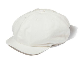 JUST RIGHT [ジャストライト] CLASSIC SPORTS NEWSBOY CAP/WHITE