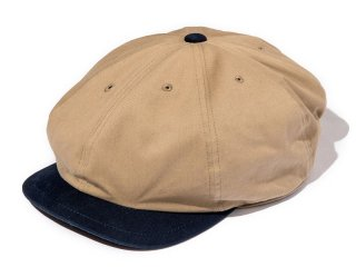 JUST RIGHT [ジャストライト] CLASSIC SPORTS NEWSBOY CAP/BEIGE-NAVY