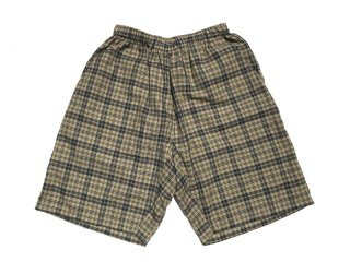 NOROLL [ノーロール] INDIA MADRAS SHORTS/BEIGE