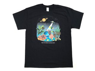 TRIPWIRE [トリップワイヤー] NATURAL SPACE TEE/BLACK