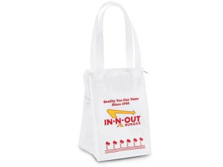 IN-N-OUT BURGER [インアンドアウト バーガー] WHITE LUNCH TOTE