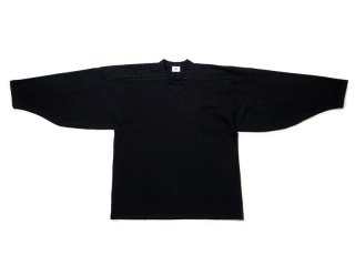 JUST RIGHT [ジャストライト] HOCKEY SHIRT/BLACK