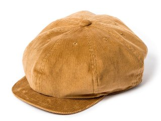 JUST RIGHT [ジャストライト] CLASSIC SPORTS NEWSBOY CAP/CORDS CAMEL