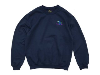 SUNDAYS BEST [サンデイズ ベスト] TREASURE ISLAND CREW NECK SWEAT/NAVY