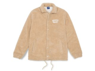 QUARTER SNACKS [クウォータースナックス]  CHUNKY FLEECE COACH JACKET