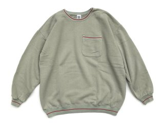 COMFORTABLE REASON [コンフォータブル リーズン] Pile Loop Line Sweat/Mint