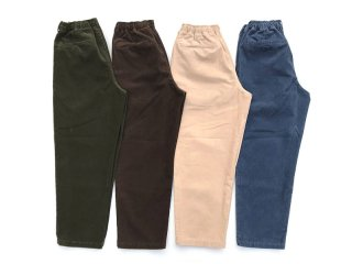 COMFORTABLE REASON [コンフォータブル リーズン] Color Cords Slacks