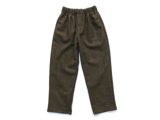 COMFORTABLE REASON [コンフォータブル リーズン] British Wool 2tuck Slacks