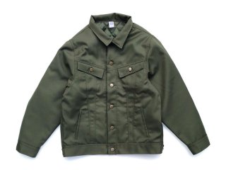 COMFORTABLE REASON [コンフォータブル リーズン] Daily Trucker Jacket/OLIVE