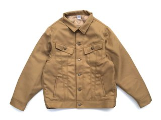 COMFORTABLE REASON [コンフォータブル リーズン] Daily Trucker Jacket/BEIGE