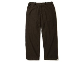 JUST RIGHT [ジャストライト] STANDARD TROUSERS/DARK BROWN