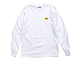 MANAGER'S SPECIAL [マネージャーズスペシャル] PAID LONG SLEEVE TEE/WHITE