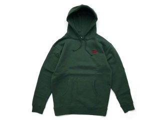 JHAKX [ジャークス] ADAM PULLOVER HOODY/DEEP GREEN
