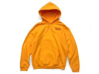 SUNDAYS BEST [サンデイズ ベスト] TACOS RECORDS PULLOVER HOODY/GOLD
