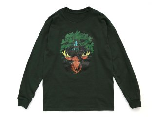 NOROLL [ノーロール] EARTH LIGHT L/S TEE/GREEN
