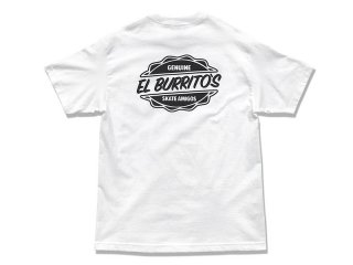 RESTAURANT [レストラン] EL BURRITO'S SKATE AMIGOS POCKET TEE/WHITE