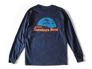 SUNDAYS BEST [サンデイズ ベスト] ALWAYS POCKET L/S TEE