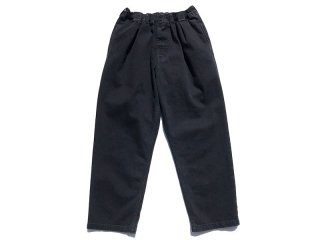 COMFORTABLE REASON [コンフォータブル リーズン] Black Easy Denim