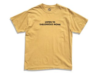 MANAGER'S SPECIAL [マネージャーズスペシャル] MONK TEE/MUSTARD