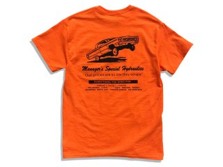 MANAGER'S SPECIAL [マネージャーズスペシャル] MS HYDRO SHOP TEE/ORANGE