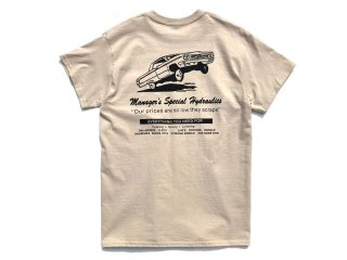 MANAGER'S SPECIAL [マネージャーズスペシャル] MS HYDRO SHOP TEE/SAND