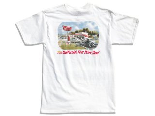IN-N-OUT BURGER [インアンドアウト バーガー] 1986 CA FIRST DRIVE-THRU TEE